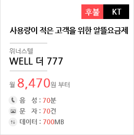 WELL 더777
